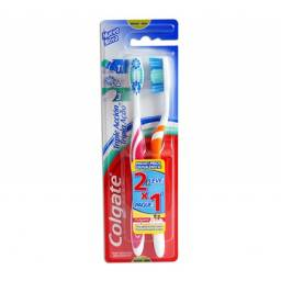 Cepillo Dental Colgate Triple Acción 2×1