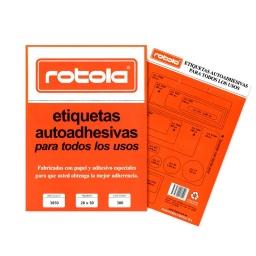 ETIQUETAS ROTOLA 30 HOJAS