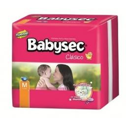 BABYSEC CLASICO HIPER M X 72