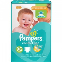 PAMPERS CONFORT SEC X 60