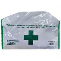 Sobre De Plástico Primeros Auxilios Y Seguridad Vial