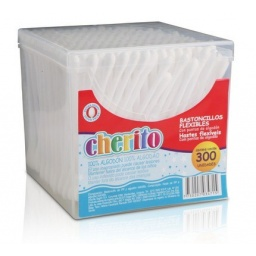 Cotonetes Cherito En Caja X 300 Unidades