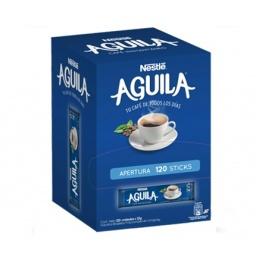 CAFE AGUILA EN STICK EN CAJA X 120 UNIDADES