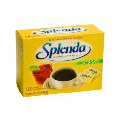 EDULCORANTE SPLENDA X 100 SOBRES