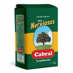 YERBA CABRAL NERVIOSOS X 1 KILO