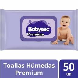 TOALLITAS BABYSEC PREMIUM X 50 UNIDADES