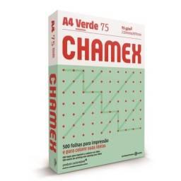 CHAMEX COLORS A4 X 500 HOJAS VERDE