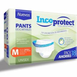 PANTS INCOPROTECT TALLE M X 18
