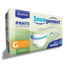 PANTS INCOPROTECT TALLE G X 18