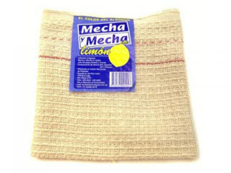 PAÑO DE PISO MECHA Y MECHA LIMON 65X55CM