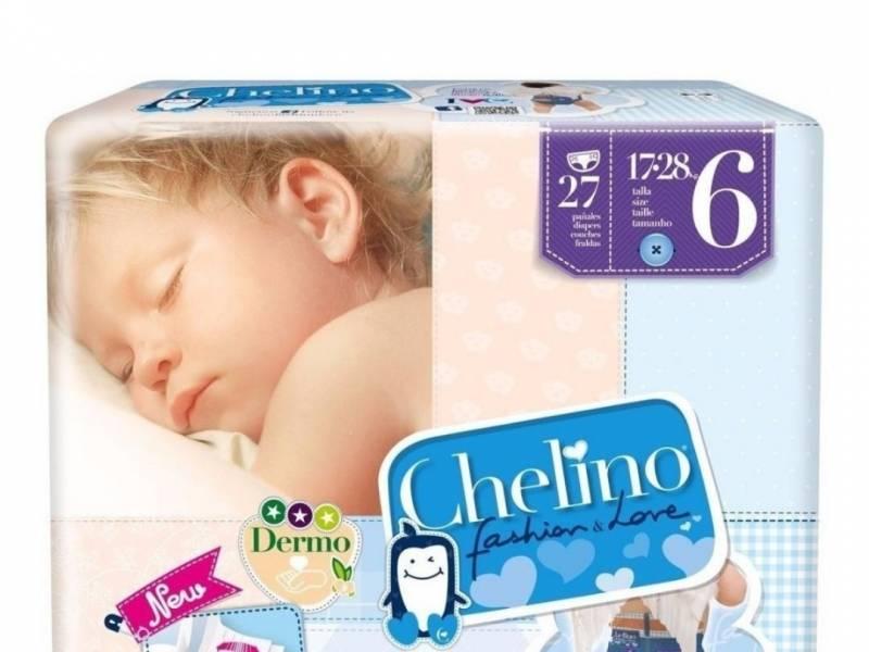 PAÑALES CHELINO  PREMIUM TALLE 6 X 27