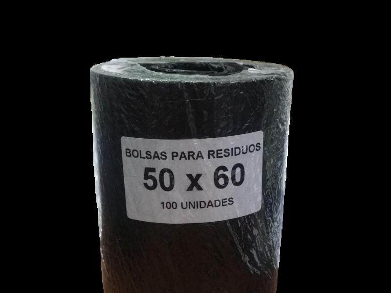 BOLSA RESIDUOS 50 X 55 (ROLLO DE 100 BOLSAS)
